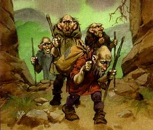 Angus_McBride_-_Petty_dwarves
