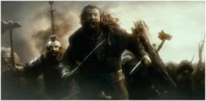 Battle of Azanulbizar as depicted in the The Hobbit movies - All Rights Reserved