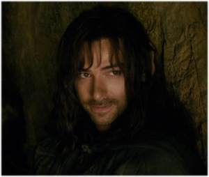 Kili as shown in -The Hobbit: The Desolation of Smaug - All Rights Reserved