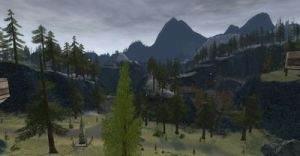 Blue Mountains in LoTRO