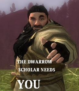 Dwarrow Scholar Needs YOU